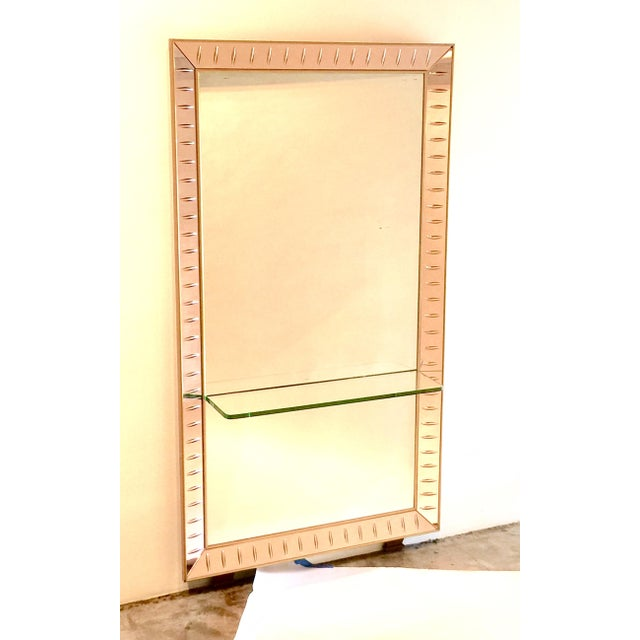 Cristal Art Mirror & Glass Console - Image 2 of 5