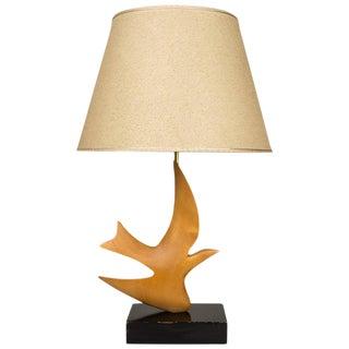 """1950s Mid-Century Modern Clark Voorhees for Hansen """"Bird Lamp"""" For Sale"""