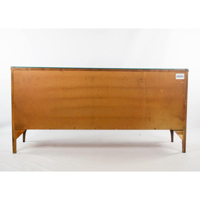 Kent Coffey Perspecta Walnut and Rosewood Credenza For Sale - Image 12 of 13