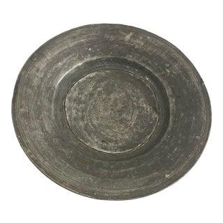 Antique Turkish Anatolian Copper Plate For Sale