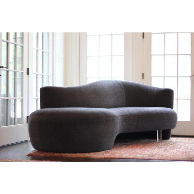 Postmodern Weiman Furniture Vladimir Kagan Sofas - a Pair For Sale - Image 3 of 8