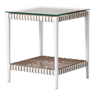 Delta Zeta End Table with Shelf