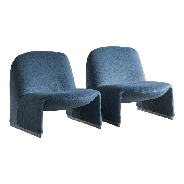Pair of Alky Chairs by Giancarlo Piretti For Sale