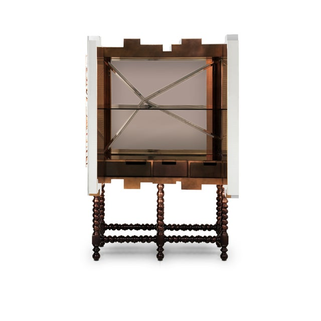 Traditional D. Heritage Cabinet From Covet Paris For Sale - Image 3 of 7