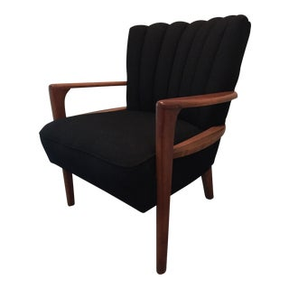 1940s Heywood Wakefield Channel Back Double Arm Chair