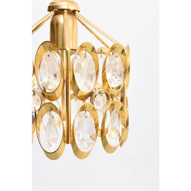 Mid-Century Modern Jewel Chandelier Designed by Palwa For Sale - Image 3 of 7