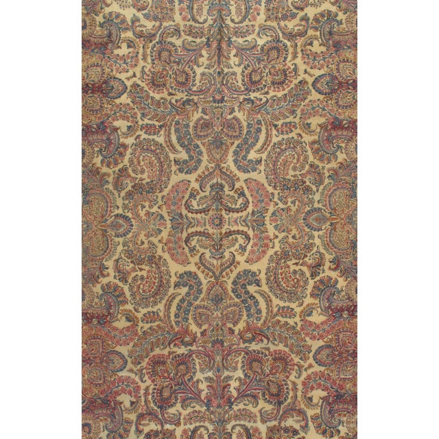 Persian Lavar KERMAN Circa 1920 Hand-knotted lamb's wool on cotton foundation.
