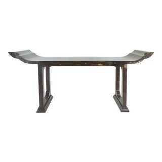 Maitland Smith Tessellated Horn Console For Sale
