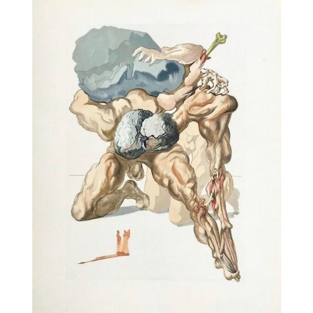 Surrealism Salvador Dalí Hell Canto #7, The Divine Comedy (Field 196) 1959-1964 For Sale - Image 3 of 3