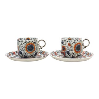 Ashworth Bros Rayner Cups & Saucers - a Pair