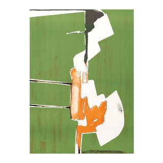 "Dimitri Petrov ""Abstract Handstand"" Lithograph"
