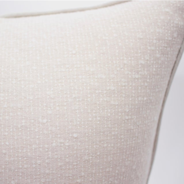 TylerGraphic Hand Blocked Square Down/Feather Pillow For Sale - Image 9 of 10