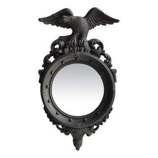 Custom Painted Convex Eagle Mirror