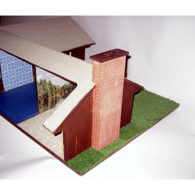 C.1970s Ranch Style Dollhouse For Sale - Image 9 of 11