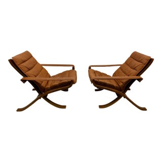 Ingmar Relling for Westnofa Flex Safari Chairs For Sale