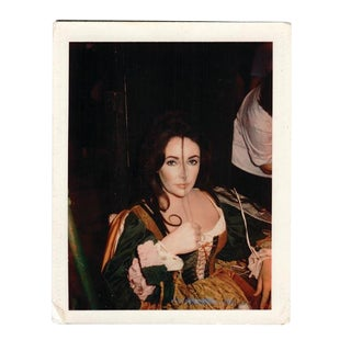"1965 ""Elizabeth Taylor"" Polaroid Photograph by Tiziani Archives For Sale"