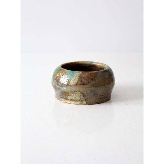 Ceramic Mid-Century Studio Pottery Bowl For Sale - Image 7 of 7