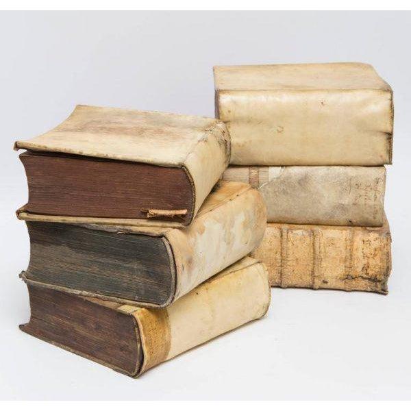 Italian 17th-18th Century Vellum Books Collection - Set of 6 - Image 2 of 5