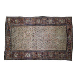 Late 19th Century Antique Persian Mahal Rug - 12′ × 18′3″ For Sale