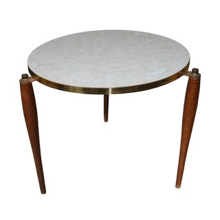 1950s Mid-Century Modern Side Table For Sale