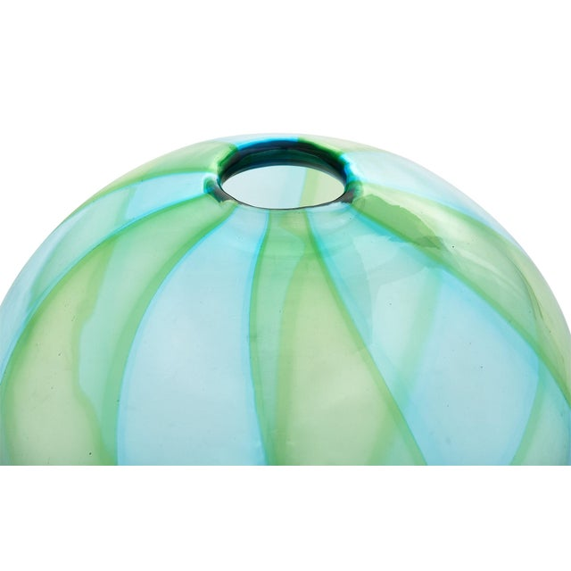 1980s Hand Blown Murano Glass Trio - Set of 3 For Sale - Image 4 of 10