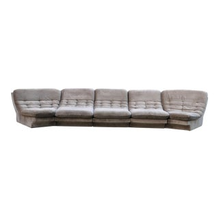 1970s Vintage Vladimir Kagan for Preview Sectional Sofa For Sale