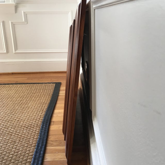 Pottery Barn Cherrywood Beveled Wall Mirror - Image 4 of 6
