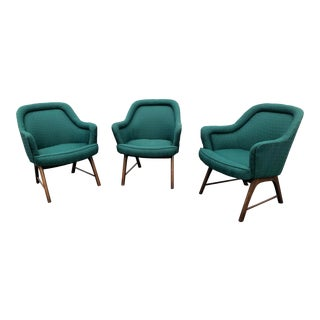 Mid Century Pearsall Style Chairs- Set of 3 For Sale
