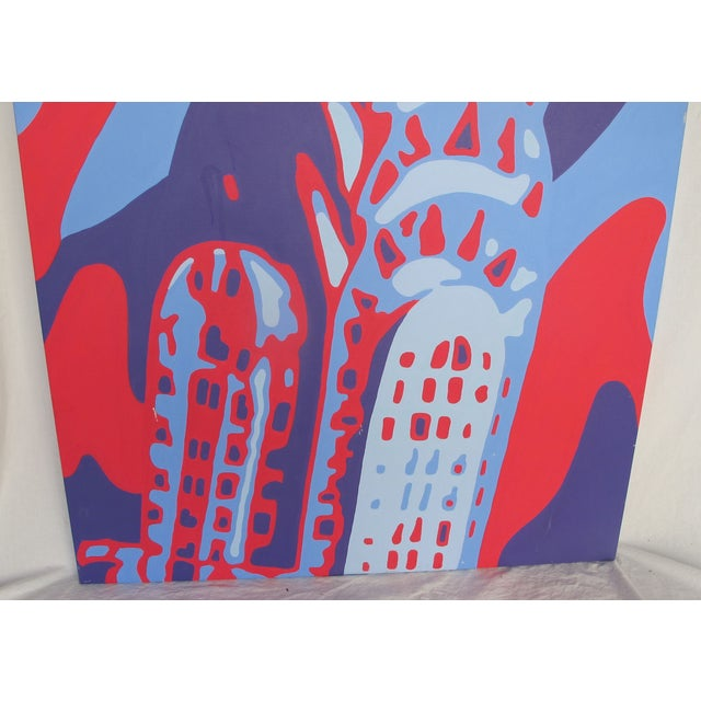 Monumental Acrylic of New York's Chrysler Building - Image 4 of 8