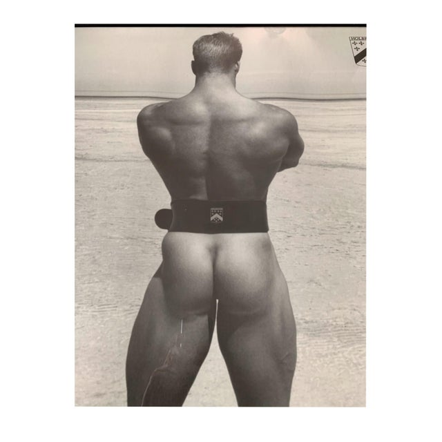 John Robert Holbrook Framed Male Physique Print For Sale - Image 4 of 7