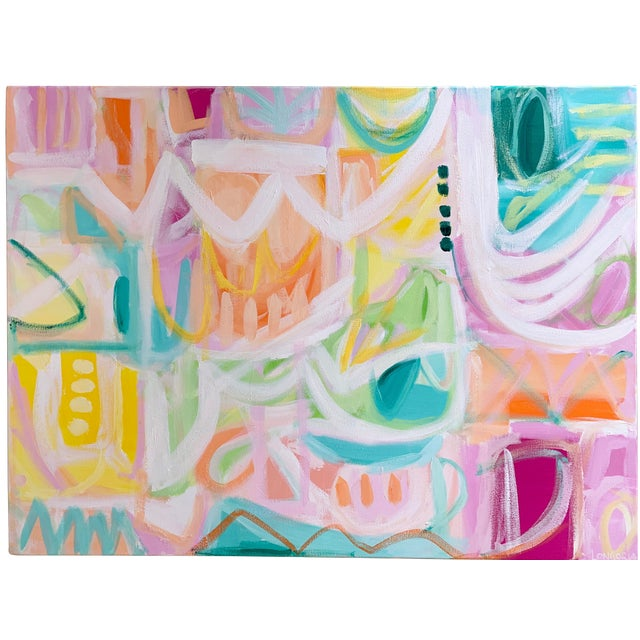 """""""Ritmo"""" Abstract Painting by Christina Longoria For Sale"""