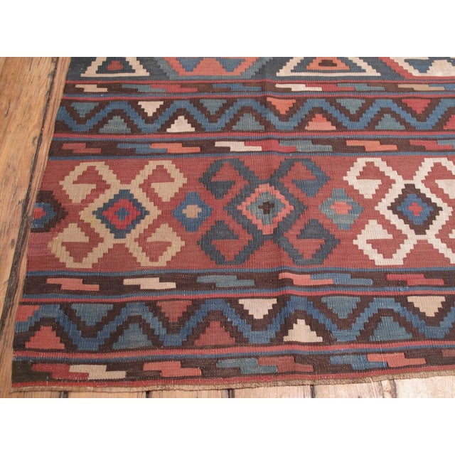 Shirvan Kilim For Sale - Image 4 of 8
