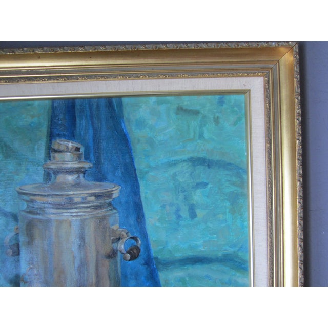 'Tea Time in the Ussr' Original Painting - Image 4 of 8