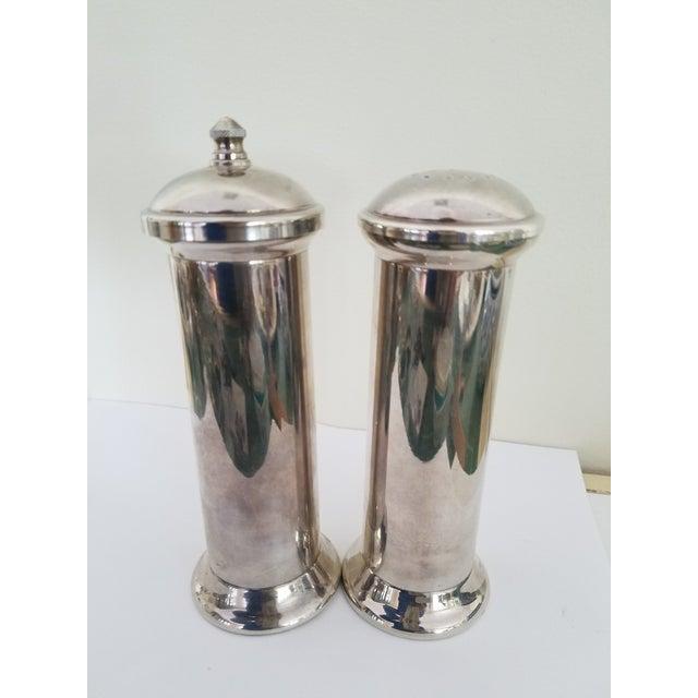 Acciaio Garantito Salt Shaker & Pepper Mill For Sale - Image 4 of 4
