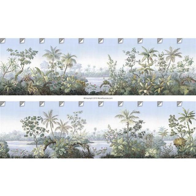 Not Yet Made - Made To Order Casa Cosima Classic Jacinda Wallpaper Mural - Sample For Sale - Image 5 of 6