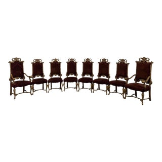 Tomlinson Erwin-Lambeth Dining Chairs - Set of 8 For Sale