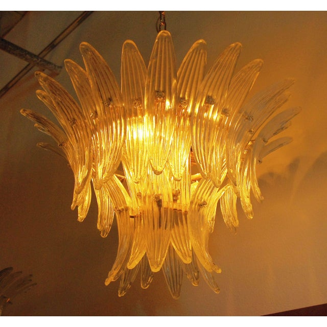 Fabio Ltd Tropicana Palmette Chandelier by Fabio Ltd For Sale - Image 4 of 11