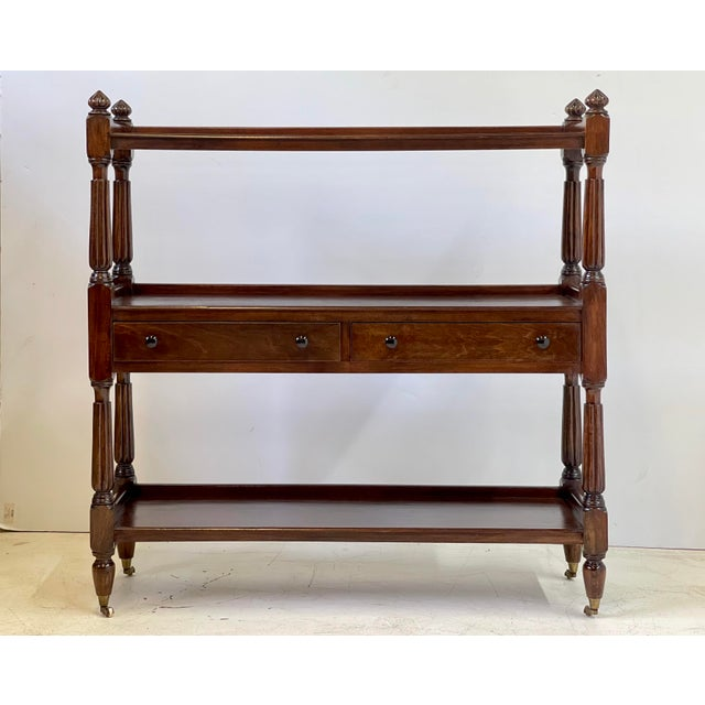English Regency Trolley of Mahogany For Sale - Image 11 of 13