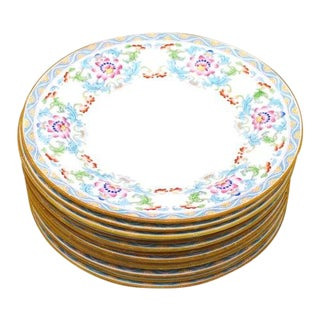 Antique Minton Dessert Plates - Set of 12 For Sale
