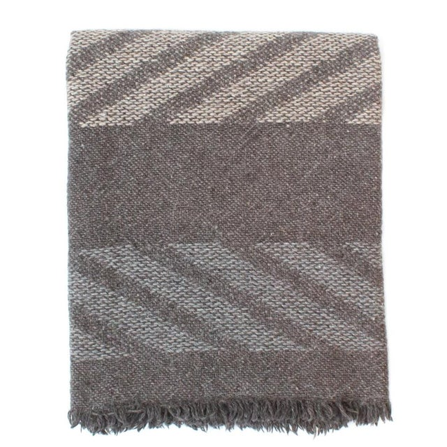 Handwoven Navajo Throw Blanket II - Image 1 of 3