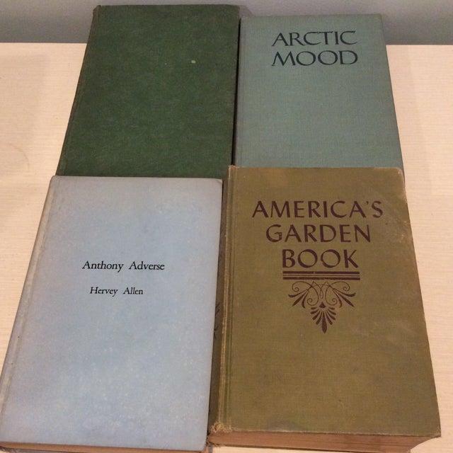 Vintage Green Book Stack - Set of 4 - Image 6 of 11
