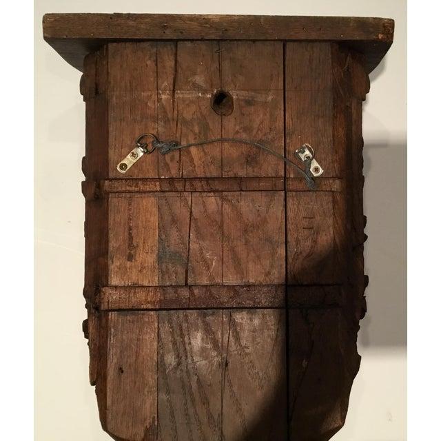 Antique Carved Wood Bracket - Image 11 of 11