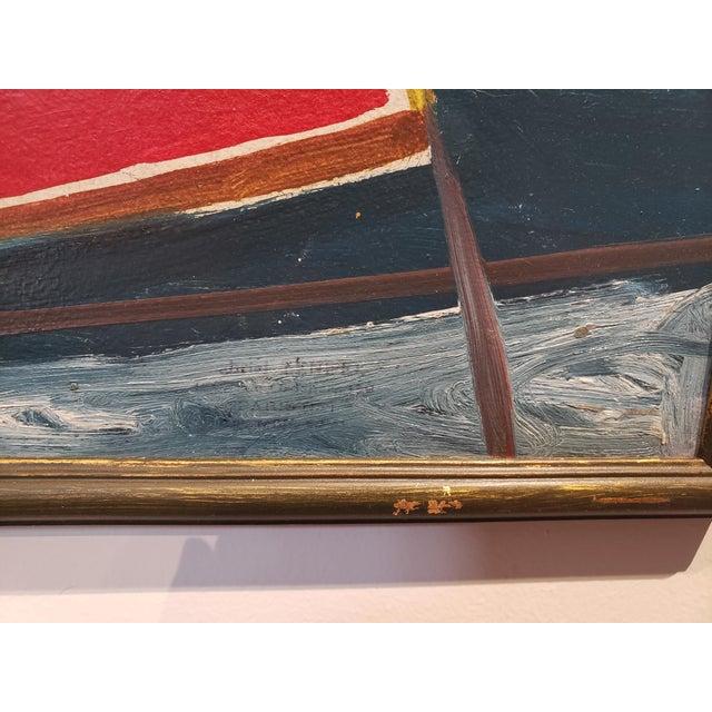 Abstract Painting by Ecole De Paris Painter Gabriel Zendel For Sale In Dallas - Image 6 of 8