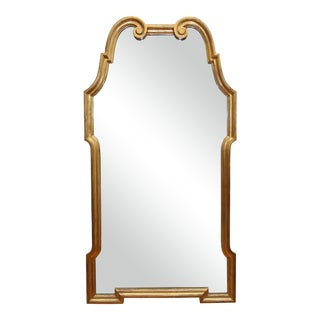 Mid-Century Modern Giltwood Mirror For Sale