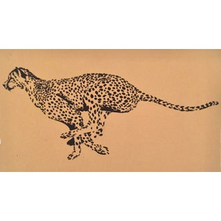 Running Cheetah by Gretchen Kelly For Sale