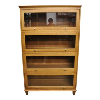 Ethan Allen Maple Bookcase For Sale