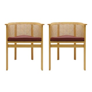 Rud Thygesen & Johnny Sørensen Model 7703 King Series Armchairs - a Pair For Sale