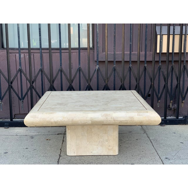 Tessellated Stone Tile Coffee Table For Sale - Image 12 of 12
