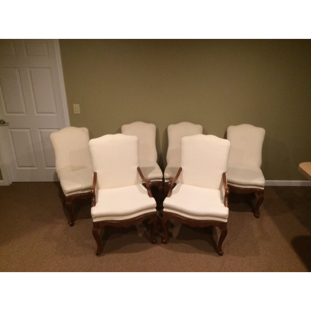 Baker French Country Dining Chairs - Set of 6 - Image 2 of 6