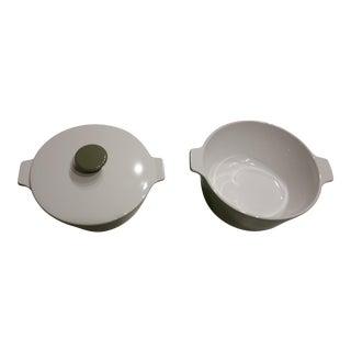 1970's CorningWare Lidded Casserole Pans - Set of 3 For Sale